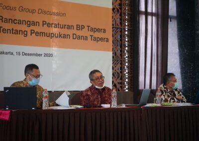 FGD Rancangan Peraturan BP Tapera Bidang Pemupukan Dana