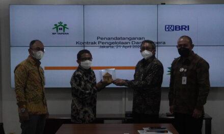 Siap Beroperasi, BP Tapera tandatangani Kontrak Pengelolaan Dana Tapera dengan BRI sebagai Bank Kustodian