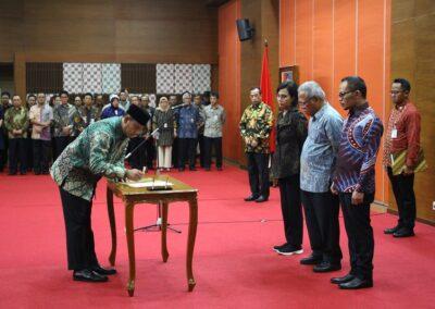 Pengukuhan Sumpah Jabatan Komisioner _ Deputi Komisioner BP Tapera 03