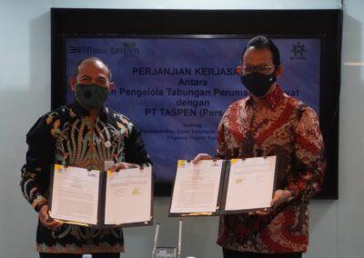 Penandatanganan PKS BP Tapera & PT Taspen 3