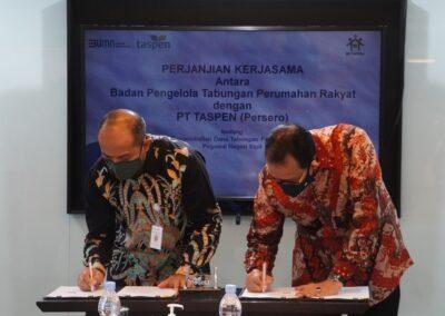 Penandatanganan PKS BP Tapera & PT Taspen 4