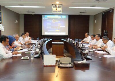 Penyampaian Progress BP Tapera Kepada Ketua Komite